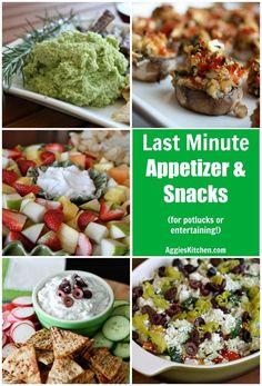 Last minute appetize