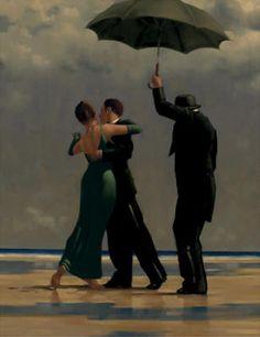 Dancer in Emerald  Artist: Jack Vettriano
