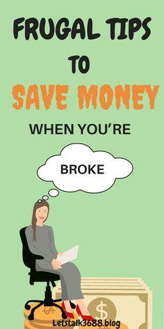 Frugal tips for savi