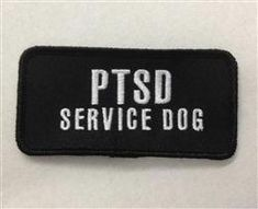 """5.5/""""x2/"""" AUTISM DOG Patches for Dog Harness or Collar Hook-Side Backing"""
