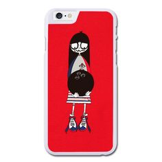 Red Marc by Marc Jacobs Miss Marc Bowling Phonecase for iPhone 6/6S Plus