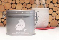 Boîte métal winter in Love, Lov Organic