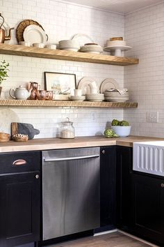 If there's one room that I'm most excited to reveal, this would be it. Click below to watch the official Before & After video: The dream kitchen planning began long before purchasin…