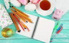Wallpaper pencils, items, notebook, art, drawing, art