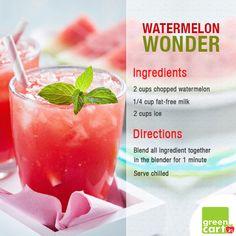 Kickstart your Sunday Brunch with this refreshing Watermelon Wonder