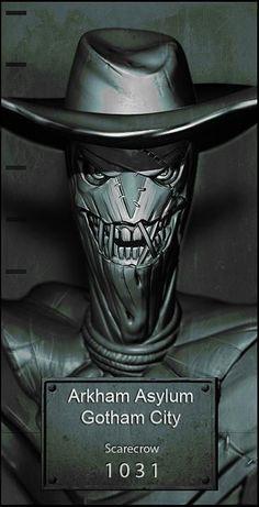 Scarecrow in Arkham Asylum Comic Book Characters, Comic Character, Comic Books Art, Comic Art, Dc Comics Art, Marvel Dc Comics, Geeks, Im Batman, Batman Ninja
