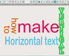 Typing Vertical Text in Silhouette Studio (The So Easy It's Stupid Way) ~ Silhouette School