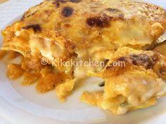 Le lasagne con la zucca sono un delicato primo piatto vegetariano. Tra le ricette con la zucca questa è una delle più apprezzate.