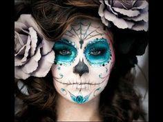 Resultado de imagen para pintar caras de catrinas