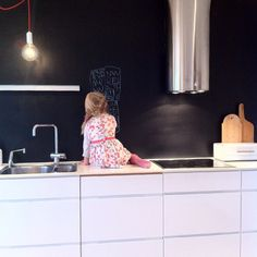 """""""Happy with my new wall at the kitchen """""""