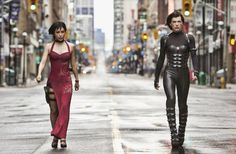Alice and Ada Wong-Resident Evil Retribution