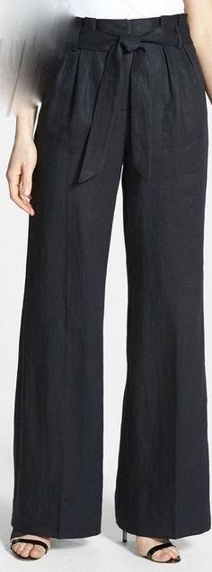 How to cut pants into shorts how to make 70 Ideas Baggy Pants, Skirt Pants, Pegged Pants, Wide Pants, Fashion Pants, Hijab Fashion, Fashion Outfits, Marlene Hose, Pantalon Large