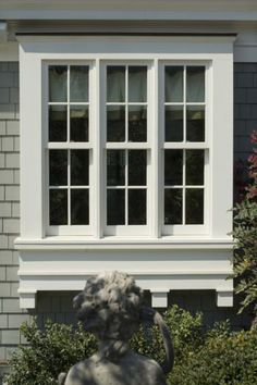 Spitzmiller & Norris; details on window; Georgian Country House 02 More examples of the 2 X 4 windows