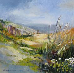 """Beyond the Dunes"" by Ellen Diamond at Stellers Gallery"
