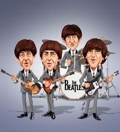 The Beatles  Rice&Caricature