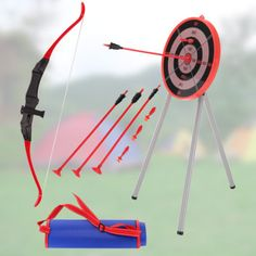 Garden #archery set game #outdoor fun bow #arrows target blow pipe & darts party,  View more on the LINK: http://www.zeppy.io/product/gb/2/291843996356/