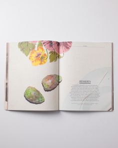 Founded by Michele Outland and Fiorella Valdesolo, Gather Journal is a biannual celebration of food and cooking. It's meant to remain on the bookshelf as a constant source of culinary inspiration. Pub Design, Text Design, Graphic Design, Nature Publication, Publication Design, Recipe Book Design, Wolf Book, Watercolor Books, Book Design Layout