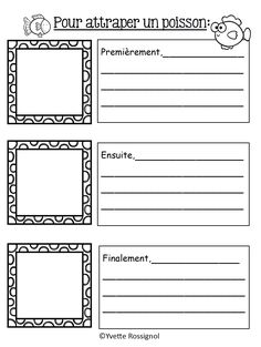 Le printemps! French Immersion! Lecture, écriture, ateliers, comptines... Writing Traits, Writing Prompts, Writing Papers, French Lessons, Spanish Lessons, Spanish Language Learning, Speech And Language, Teaching French Immersion, Communication Orale