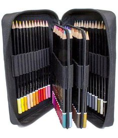 ColorIt Great Escape Bundle - 3 Coloring Books, 50 Art Marker Set, 48 Gel Pen Set, and 72 Colored Pencil Set