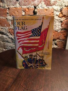 1972 Our Flag Booklet - U.S. Marine Corps by ALiteraryObsession on Etsy