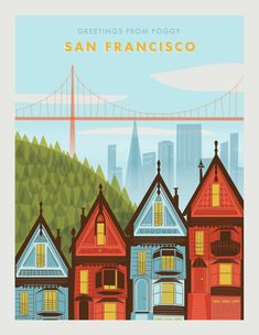 Postcards - linda eliasen // creative #illustration