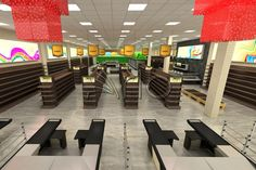 طراحی سوپر مارکت در دزفول