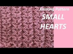Knitting Patterns For Beginners – Knitting Patterns Lace Knitting Patterns, Knitting Charts, Knitting Designs, Knitting Stitches, Stitch Patterns, Knitting Videos, Knitting For Beginners, Loom Knitting, Hand Knitting