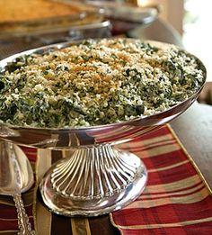 spinach madeleine..... hmmm