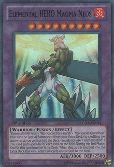 Yu-Gi-Oh! - Elemental HERO Magma Neos (LCGX-EN064) - Legendary Collection 2 - 1st Edition - Super Rare Yu-Gi-Oh!,http://www.amazon.com/dp/B0062DX416/ref=cm_sw_r_pi_dp_ctI.sb0M6DQGC523