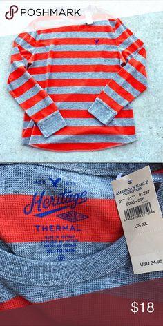 🎉HOST PICK 1/30/2016🎉 Men's NWT AE Thermal Shirt Men's American Eagle Thermal Shirt American Eagle Outfitters Shirts