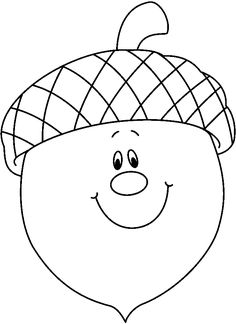 Acorns Coloring Pages | C0lor. | coloring pages | Pinterest | Craft ...