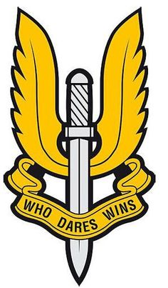 this is the logo of the nzsas. i am trying to further my career in the army by becoming a member.