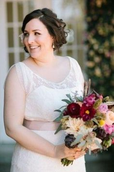 You can find a vintage plus size wedding gown with open neckline in the Darius Cordell bridal collection. Plus Size Brides, Plus Size Wedding Gowns, Designer Wedding Dresses, Bridal Dresses, Flower Girl Dresses, Couture Dresses, American Dress, Curvy Bride, Curvy Dress