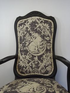 RESERVED Vintage Louis XV Rococo Style Arm Chair