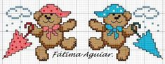 Cross Stitch For Kids, Cross Stitch Boards, Cross Stitch Bookmarks, Cross Stitch Baby, Cross Stitch Patterns, Cross Love, Stitch Doll, Animal Crackers, Baby Makes