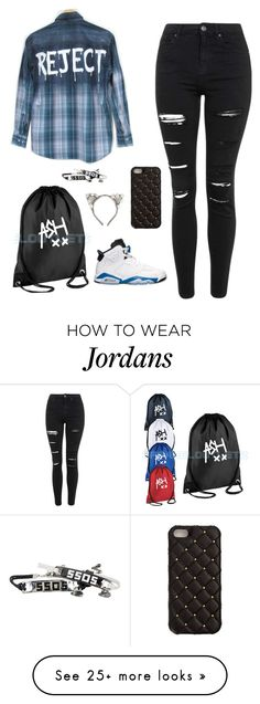 """""""14. 5sos concert✔️"""" by shawn0trash on Polyvore featuring Topshop, 2Me Style, Retrò, women's clothing, women, female, woman, misses and juniors"""