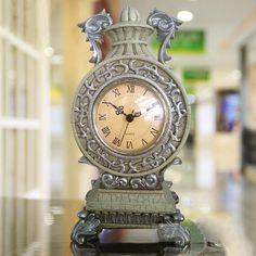 置き時計 ポリレジン アンティーク風