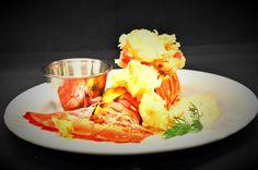Stuffed Lobster Tail.