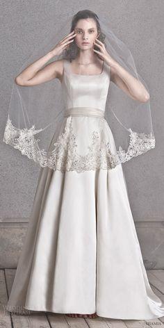 Miamia 2016 Wedding Dresses - http://www.2016hairstyleideas.com/wedding/miamia-2016-wedding-dresses-2.html