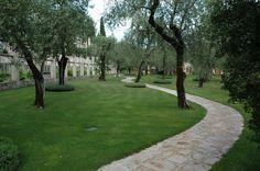 The private park of Villa Feltrinelli with olive trees. #lake #garda #grandhotel #villafeltrinelli #olive #trees #park #garden