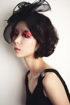 get inspiration from poppy #makeup/ beak_sehee