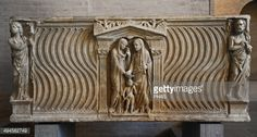 Greetings Card-Sarcophagus of a married couple. About 240 AD. Ancient Rome-Photo Greetings Card made in the USA Fine Art Prints, Canvas Prints, Framed Prints, Roman Art, The Orator, Ancient Rome, Wonderful Images, Poster Size Prints, Fine Art Paper