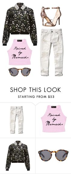 """ADORO"" by keisha-1 ❤ liked on Polyvore featuring Abercrombie & Fitch, Giambattista Valli, Illesteva and Nine West"