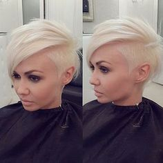 @hairstylist_rostov #haircut #pixie #headshave #sideshave #buzzcut #drasticchange #girlswithshorthair #chopchop #fauxhawk #bigchop #haironthefloor #longtoshort #hair #hairfetish #shorthairdontcare #shorthair #snipsnip #hairchopped #clippercut #scissors #baldisbeautiful #hairofinstagram #nape #dreads #beautiful#sidecut #undercut #blonde #gorgeous