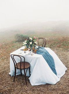 Misty Wedding Editorial on the Marin Headlands