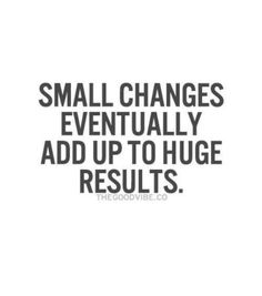 #change #fitness #improvement
