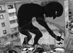 Dark Roasted Blend: Extreme Murals & Painted Buildings