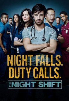 The Night Shift/ Nocna zmiana Night Shift Show, Night Shift Tv Series, Drama Tv Series, Tv Series To Watch, Medical Series, Medical Tv Shows, Brendan Fehr, Netflix, Medical Drama