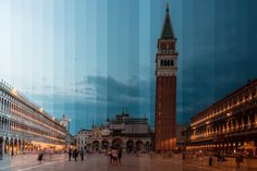 Night and Day Blend Together in Beautiful Time-Slice Photos of Iconic Buildings from Around the World