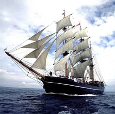 Kaskelot- This is exactly where I want to be and exactly what style of ship I want to navigate!  Top o the bucket list for sure!